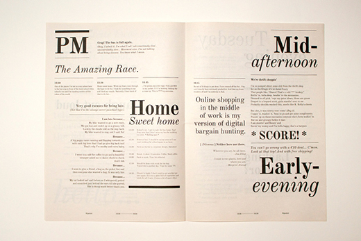 Typographic Newspaper